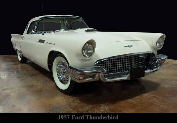 Photograph - 1957 Ford Thunderbird -2 by Chris Flees