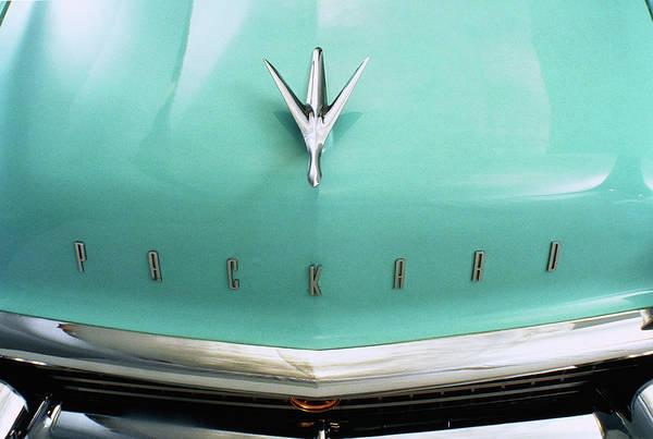 Kitsch Photograph - 1957 Packard Clipper Country Sedan Hood by Car Culture