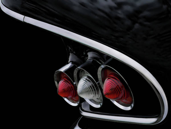 Chevy Digital Art - 1958 Chevrolet Impala Tailfin by Douglas Pittman