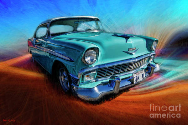 Photograph - 1958 Chevy by Blake Richards