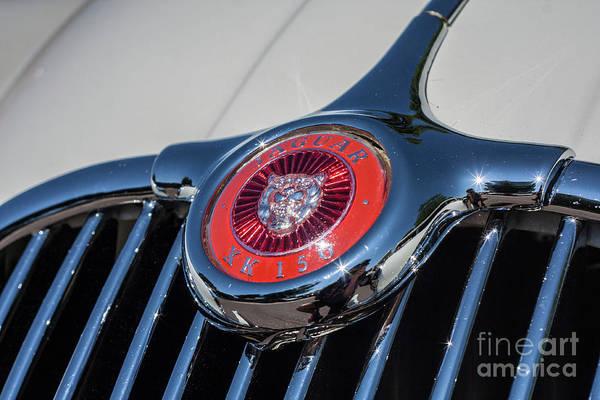 Photograph - 1958 Jaguar by Tony Baca