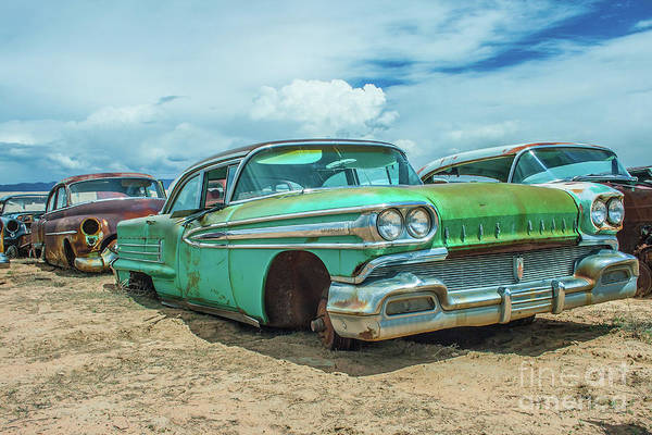 Photograph - 1958 Oldsmobile Super 88 by Tony Baca