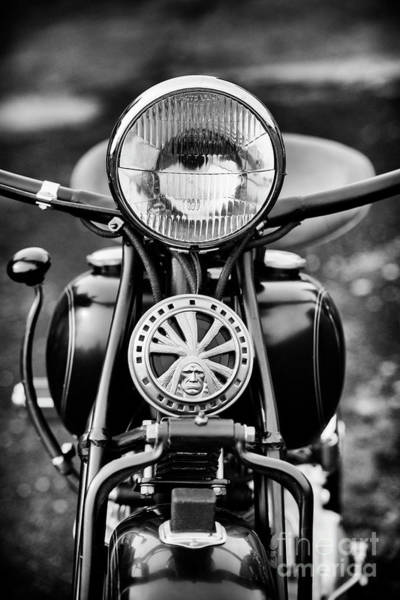 Wall Art - Photograph - 1959 Indian Chief Motorcycle by Tim Gainey