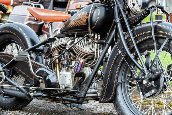 Photograph - 1959 Indian Chief by Tim Gainey