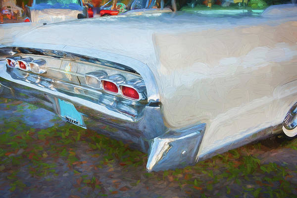 Wall Art - Photograph - 1959 Lincoln Continental Town Car Mk Iv 130 by Rich Franco