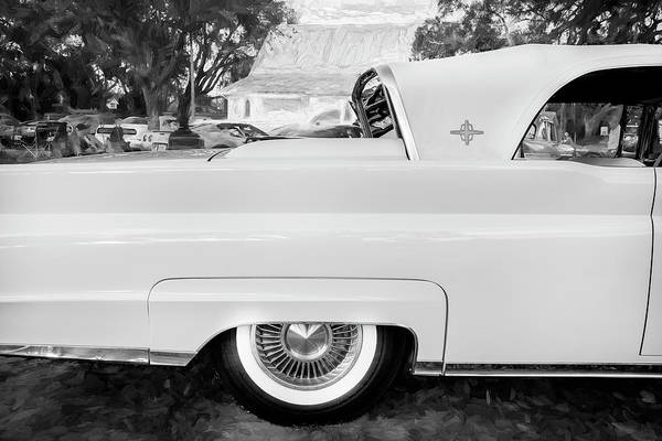 Wall Art - Photograph - 1959 Lincoln Continental Town Car Mk Iv Bw 138 by Rich Franco