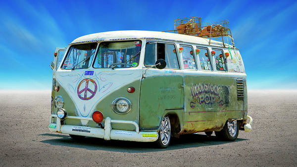 Wall Art - Photograph - 1959 V W Bus by Mike McGlothlen