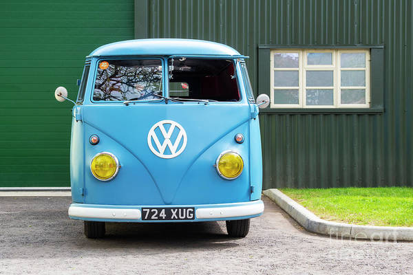 Photograph - 1959 Vw Panel Van by Tim Gainey