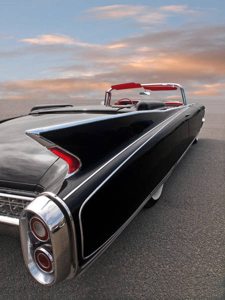Wall Art - Photograph - 1960 Cadillac Eldorado Biarritz Tail Fin by Gill Billington