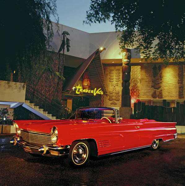 Sports Photograph - 1960 Lincoln Continental Mark V by Car Culture