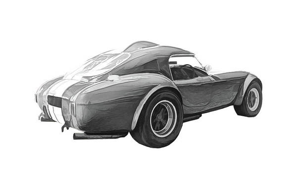 Ac Cobra Wall Art - Digital Art - 1960's Shelby / Ac Cobra 427 by Rick Deacon