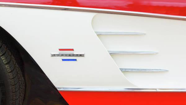 Photograph - 1961 Chevrolet Corvette Convertible 008 by Rich Franco
