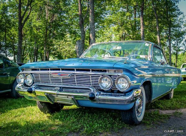Digital Art - 1961 Chevrolet Impala 2 Door Hard Top by Ken Morris