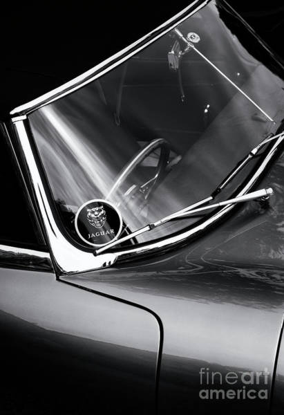 Photograph - 1961 E Type by Tim Gainey