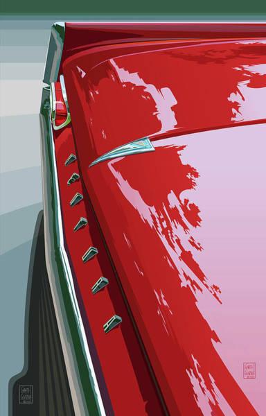 Wall Art - Digital Art - 1961 Pontiac Ventura by Garth Glazier