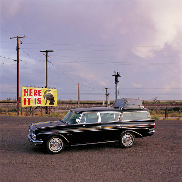 Customized Photograph - 1961 Rambler Cross Country Classic On by Car Culture