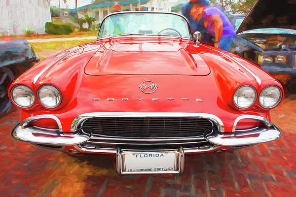 Photograph - 1962 Chevrolet Corvette Convertible 102  by Rich Franco