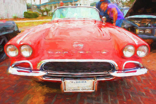 Wall Art - Photograph - 1962 Chevrolet Corvette Convertible 103 by Rich Franco