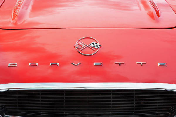 Photograph - 1962 Chevrolet Corvette Convertible 105  by Rich Franco