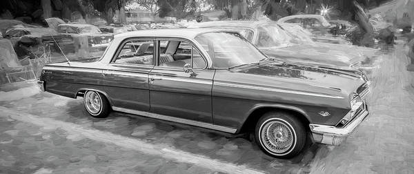 Photograph - 1962 Chevrolet Impala 107 by Rich Franco