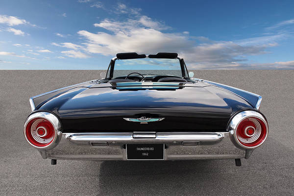 Wall Art - Photograph - 1962 Thunderbird Tail Lights by Gill Billington