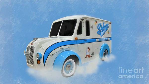 Wall Art - Photograph - 1963 Divco Milk Truck by Suzanne Wilkinson