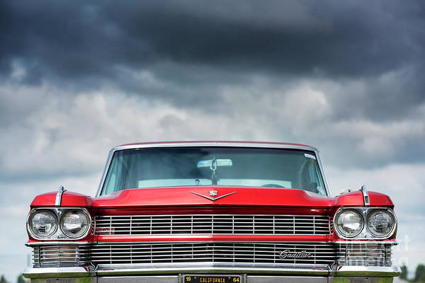 Wall Art - Photograph - 1964 Cadillac Coupe Deville by Tim Gainey