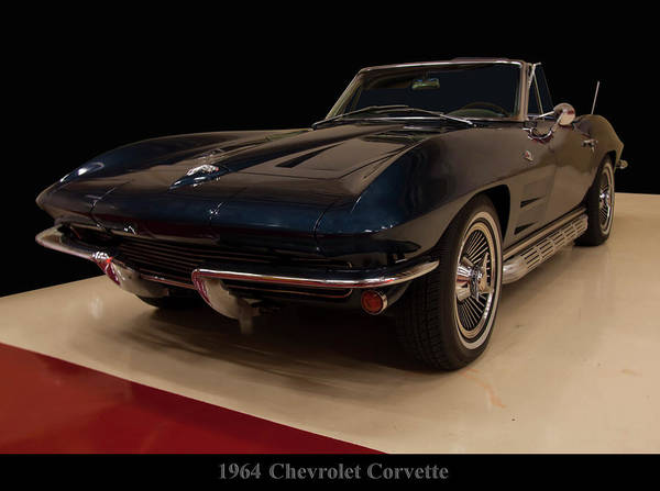 Photograph - 1964 Chevy Corvette Convertible by Chris Flees