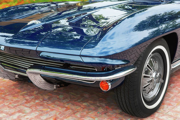Wall Art - Photograph - 1964 Chevy Corvette Coupe 101  by Rich Franco