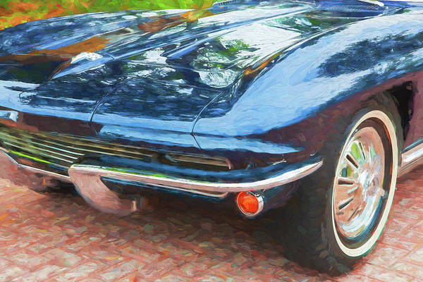 Wall Art - Photograph - 1964 Chevy Corvette Coupe 103 by Rich Franco