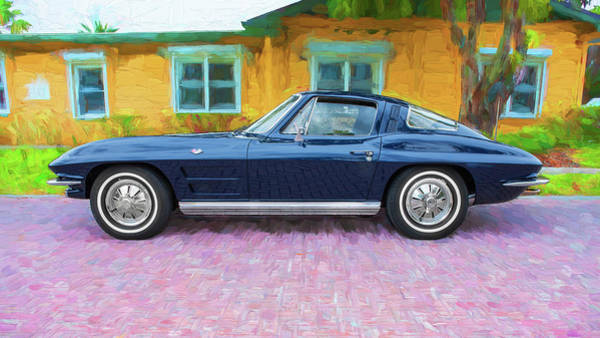 Wall Art - Photograph - 1964 Chevy Corvette Coupe 108  by Rich Franco