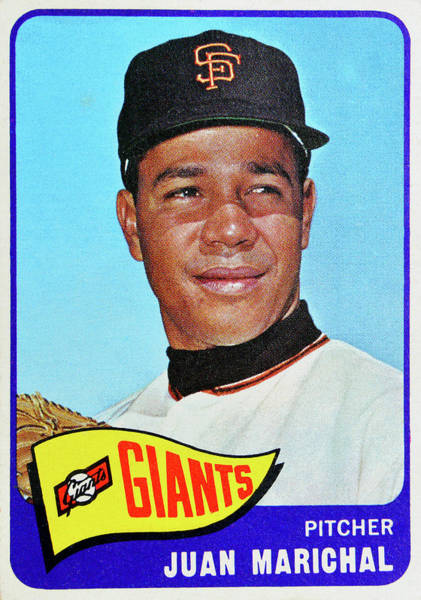 Wall Art - Photograph - 1964 Juan Marichal Topps Card by David Lee Thompson