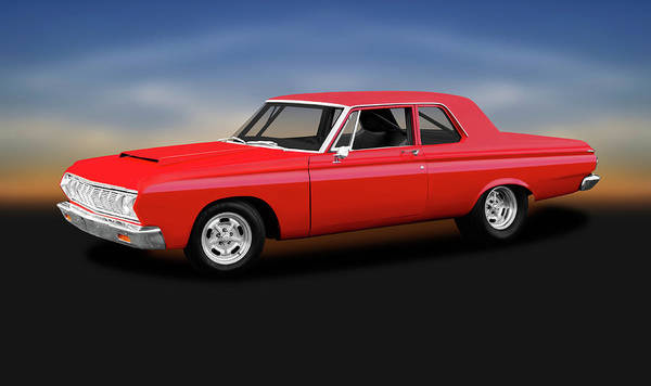 Wall Art - Photograph - 1964 Plymouth Belvedere  -  1964plymouthbelvederehemi142436 by Frank J Benz
