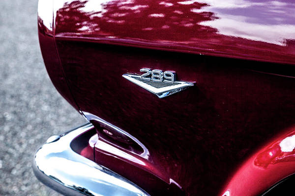 Photograph - 1964.5 Mustang, No.7 by Eric Christopher Jackson