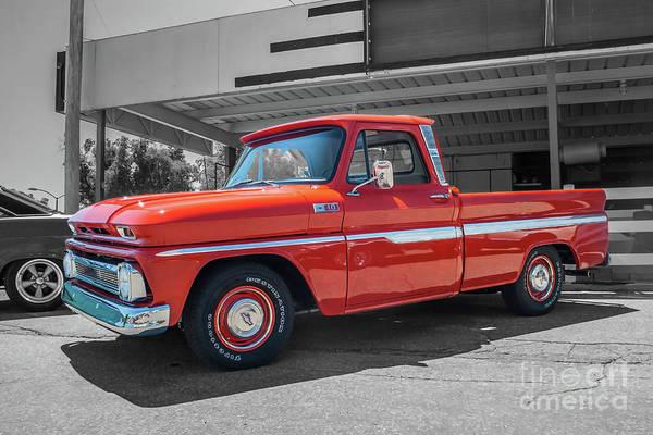Photograph - 1965 Chevrolet C10 by Tony Baca