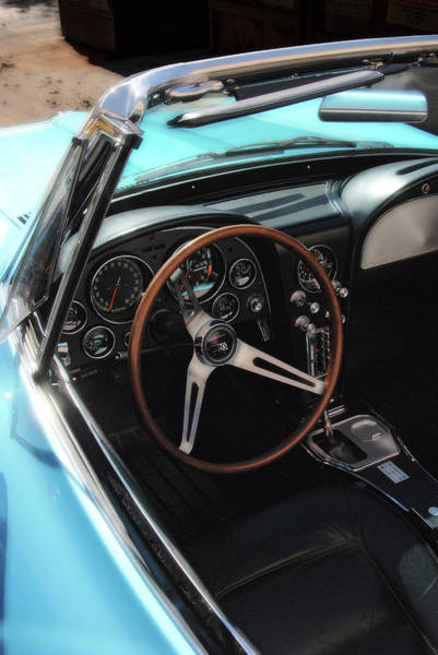 Photograph - 1965 Chevrolet Corvette Convertible - Driver Side by Angie Tirado