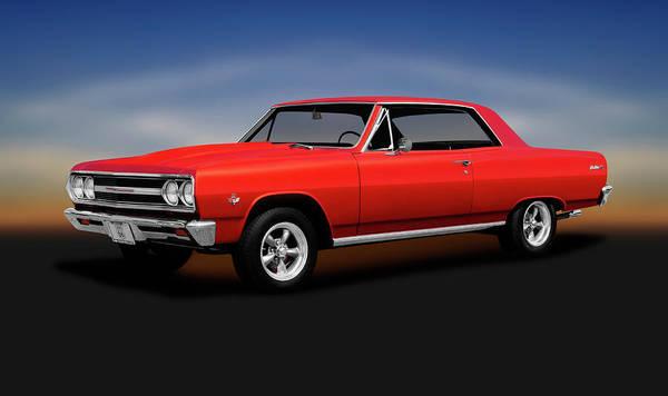 Wall Art - Photograph - 1965 Chevrolet Malibu Super Sport  -  1965chevroletmalibusupersport196628 by Frank J Benz