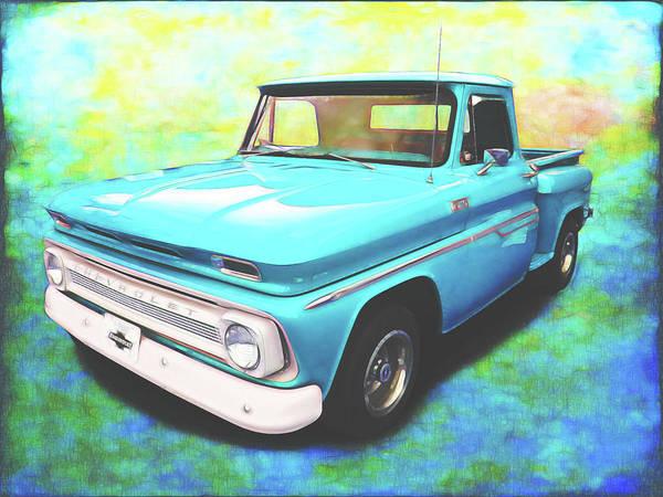 Digital Art - 1965 Chevy Truck by Rick Wicker