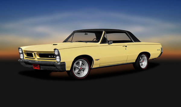 Wall Art - Photograph - 1965 Pontiac Gto Coupe  -  1965pontiacgtohardtop196775 by Frank J Benz