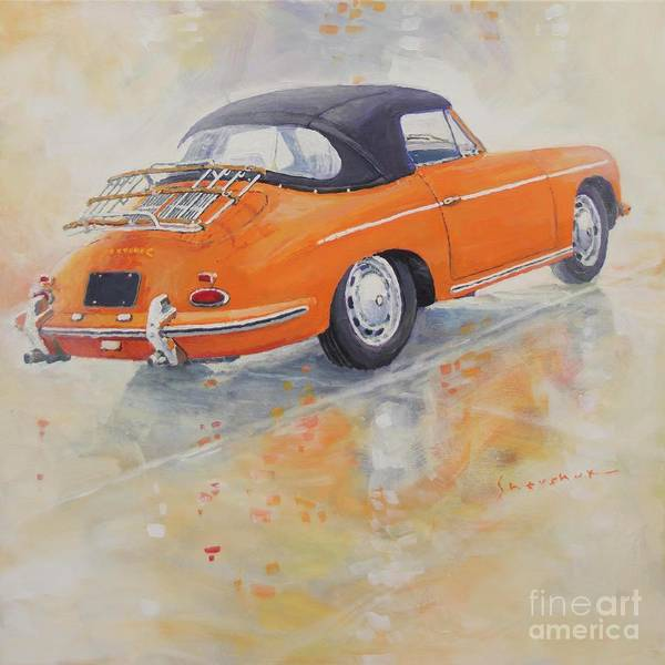 Wall Art - Painting - 1965 Porsche 356 C by Yuriy Shevchuk