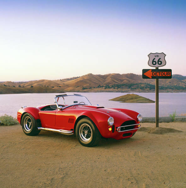 Wall Art - Photograph - 1965 Shelby A.c. Cobra 427sc by Car Culture