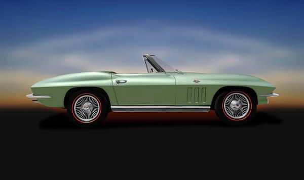 Wall Art - Photograph - 1966 C2 Chevrolet Corvette Stingray  -  66corvettestingrayconvertible197073 by Frank J Benz