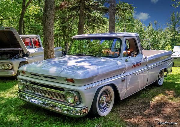 Digital Art - 1966 Chevrolet C10 Pickup Truck by Ken Morris