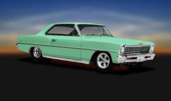 Wall Art - Photograph - 1966 Chevrolet Nova Sport  -  1966chevroletnovasportcoupe197103 Coupe by Frank J Benz