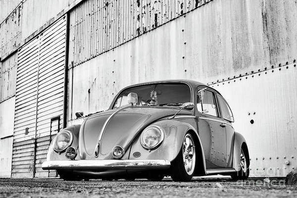 Wall Art - Photograph - 1966 Custom Beetle Monochrome by Tim Gainey