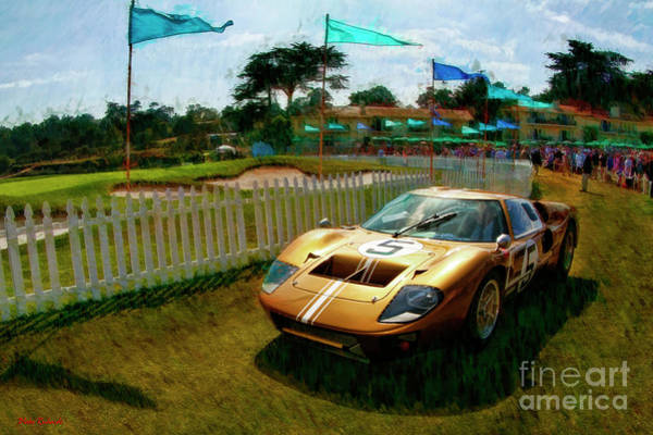 Photograph - 1966 Ford Gt 40mark 11b Coupe by Blake Richards