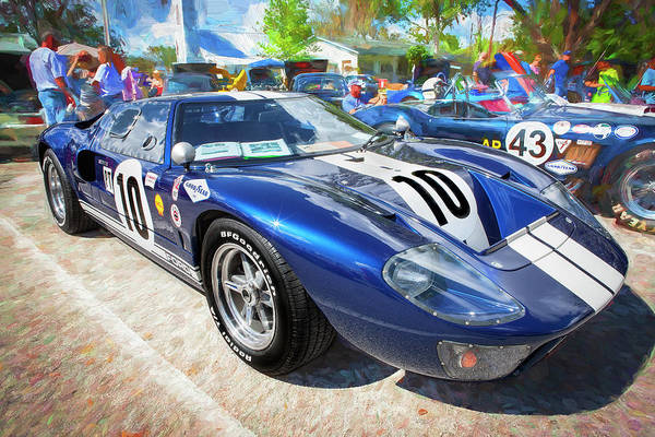 Photograph - 1966 Ford Gt40 Mk 1 204 by Rich Franco