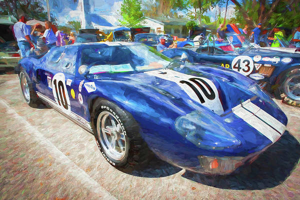 Photograph - 1966 Ford Gt40 Mk 1 205 by Rich Franco