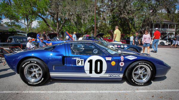 Photograph - 1966 Ford Gt40 Mk 1 207 by Rich Franco