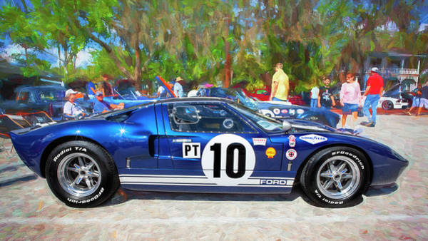 Photograph - 1966 Ford Gt40 Mk 1 209 by Rich Franco